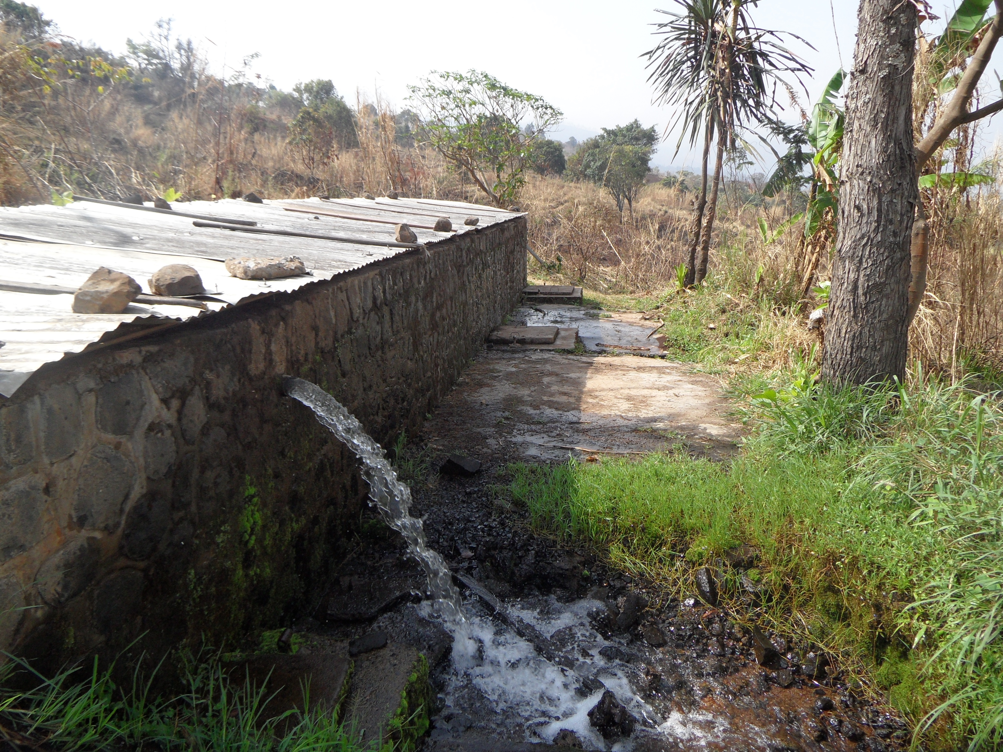 Slow Sand Filter in Bambui