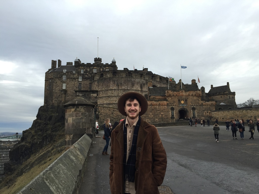 Finn in Edinburgh