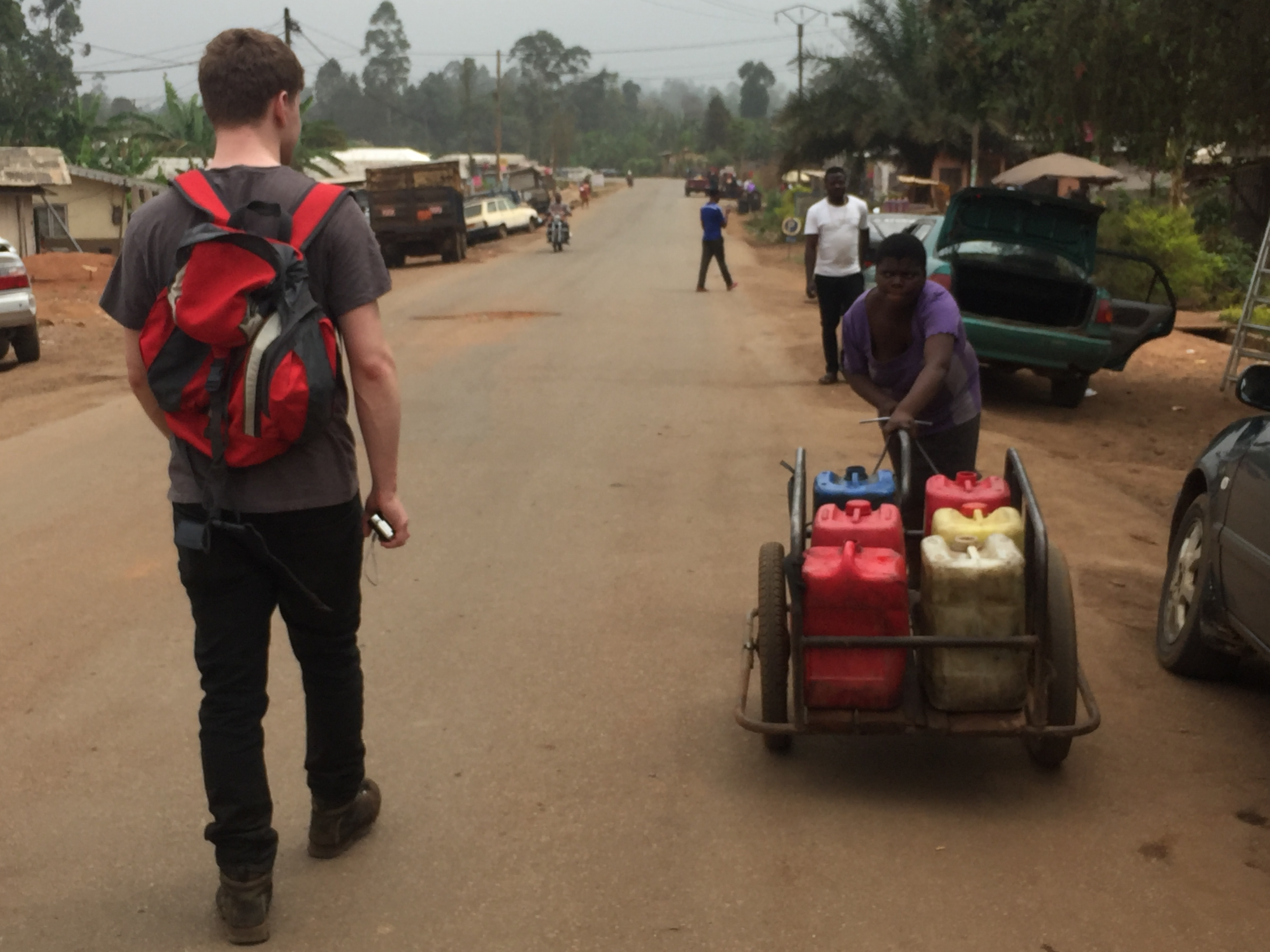 Matt in Cameroon