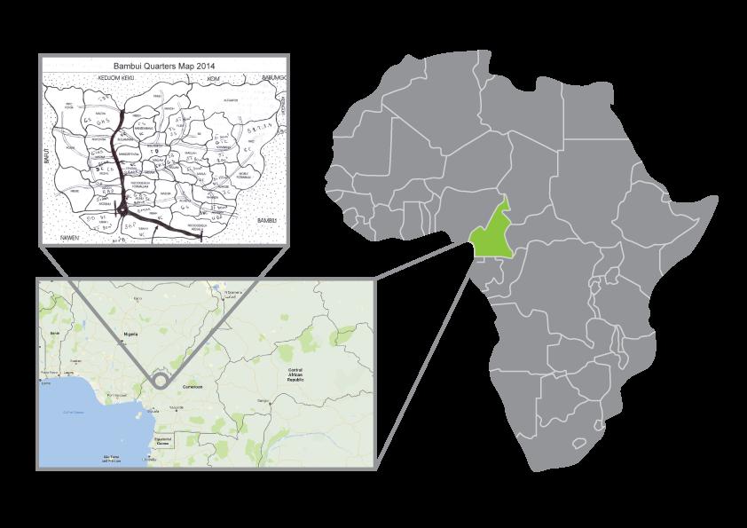 Location of Bambui